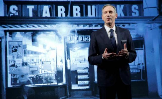 Starbucks Chief Howard Schultz will be stepping down as executive chairman