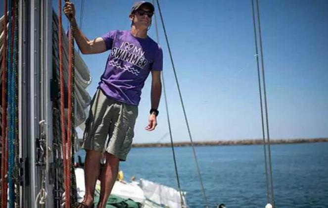 Ben Lecomte is set to take on giant waves and sharks in a perilous quest to swim across the Pacific Ocean