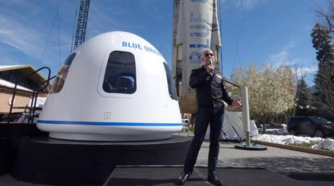 Jeff Bezos Rocket Company To Charge Passengers About $200 000 For First Trips Into Space