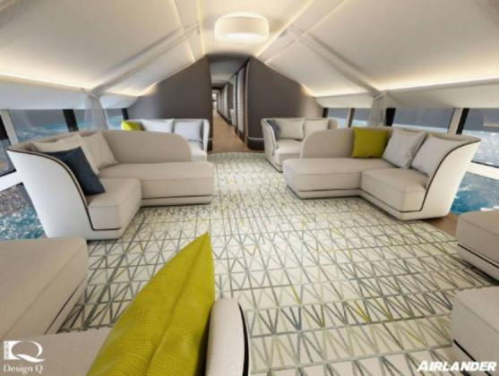 Longest Aircraft Airlander 10 To Offer Holiday Makers Luxury Expeditions