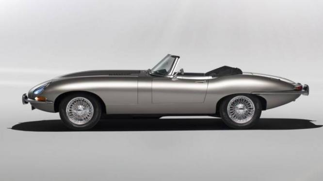 Jaguar Classic E-Type Electric Version To Go Into Production